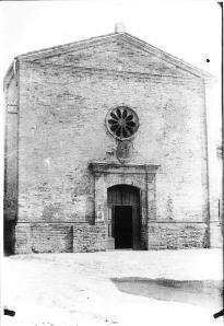 Chiesa di S. Giacomo Maggiore, prima dei lavori di modifica eseguiti nel 1943