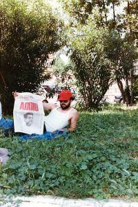 Anche molti cittadini di Potenza Picena parteciparono il giorno 13 Giugno 1984 al funerale di Enrico Berlinguer a Roma. Nella foto Polo Onofri.