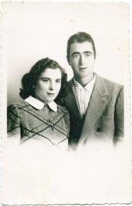 Rosetta Ciuccarelli insieme a Giuseppe Riccobelli