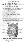 Frontespizio del volume di Arcangelo Mercenari del 1582.ASCPP.
