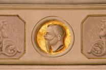 Re Vittorio Emanuele II. Sala Giunta. Foto Sergio Ceccotti.