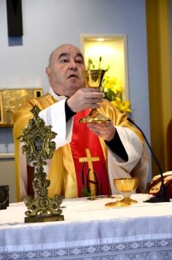 Don Vincenzo Gallie. Foto Comitato Festeggiamenti San Vincenzo Ferreri.