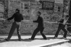 Benedizione e ricollocamento sulla Torre Civica delle nuove Campane il giorno 21 maggio 1951. Fototeca Comunale B. Grandinetti Potenza Picena.