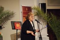 """Mari Luisa Barbaccia. Presentazione del libro """"Il Fascino della Storia e il Respiro del Mare. Potenza Picena"""" 23 maggio 2009. Foto Nico Coppari."""